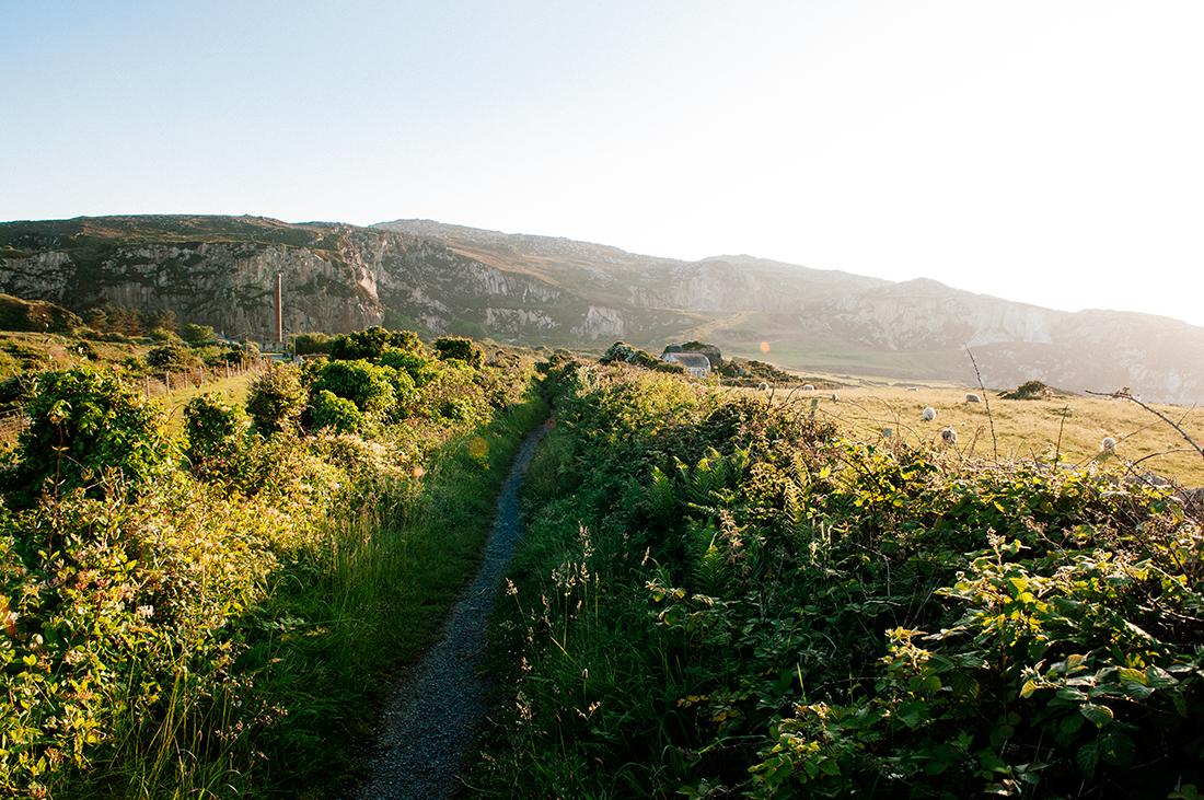 Path along the Welsh coast