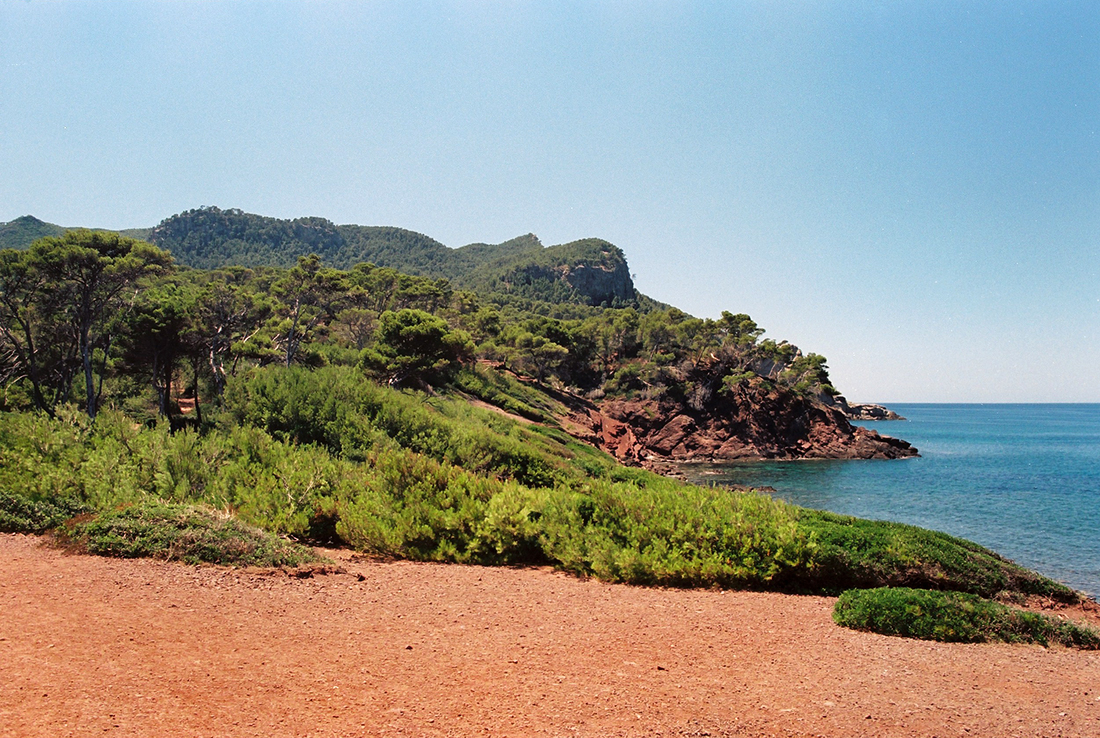 Port des Canonge on the West Coast of Mallorca