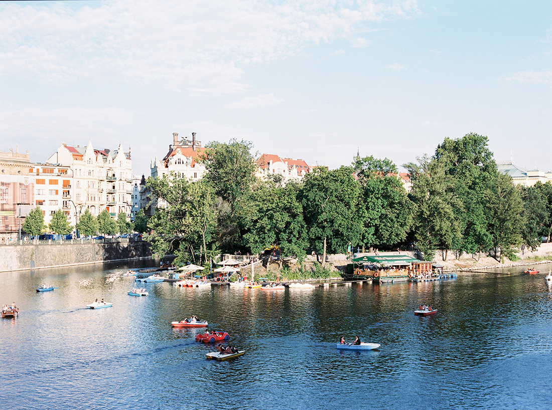 Moldau River in Prague